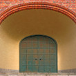 Entrance with archway — Stock Photo #42994799