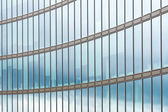 Glass facade of office building — Stock Photo
