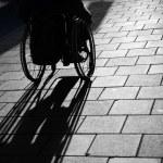 Mann in wheelchair — Stock Photo #7268220