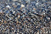 Сolorful pebbles on a beach — Photo