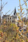King Richard's castle on Andrew's descent in Kiev, Ukraine — Stock Photo