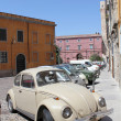 Car parked in the historic part of city.Sardinia, Cagliari. — Stock Photo #9886994