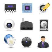 Electronics vector icon — Stock Vector