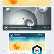 Elements of User Interface for Web — Stock Vector