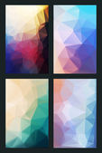 Abstract background in modern style flat — Stock Vector