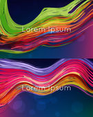Bright abstract vector backgrounds — Stockvector