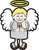 ангел — Cтоковый вектор