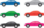 Car Colors — Stock Vector