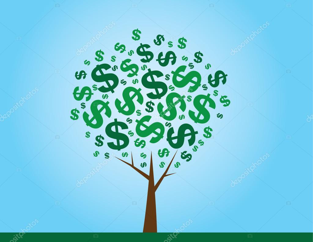 金钱树 — 图库矢量图像08 milo827 #21847987