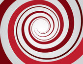 Spiral Red — Stock Vector