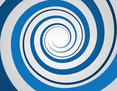 Spiral Blue — Stock Vector