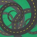 Road Spirals — Stock Vector #26144971