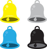 Bell Colors — Stock Vector