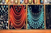 Multicolor various jewellery — Stock Photo