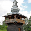 Wooden orthodox church in Berest near Krynica - Stock Photo