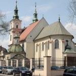 Church of Saint Florian in center of Krakow — Stock Photo #25013333