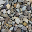 Multicolor stones of gravel — Stock Photo
