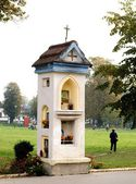 Old,small catholic chapel in Krakow — Foto de Stock