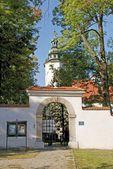 Oude kerk van sint salvator in krakau — Stockfoto