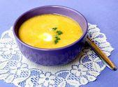 Sabrosa sopa de calabaza — Foto de Stock