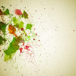 Abstract water-color hand painting grunge background  — Stock Photo