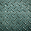 Closeup of metal diamond plate, texture background — Stock Photo #36263983