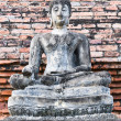 Buddha Image Disciples From Wat Mahathat, Sukhothai. — Stock Photo