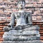 Buddha Image Disciples From Wat Mahathat, Sukhothai. — Stock Photo #36272563