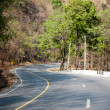 Curve of road conection — Stockfoto