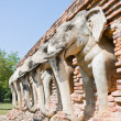 Stock Photo: Elephant Sculpture Decorate