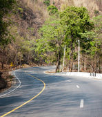 Curve of road conection — Stock Photo