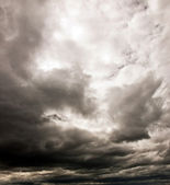 Dark cloudy sky — Stock Photo