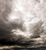 Dark cloudy sky — Stock Photo