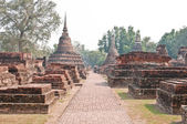 History Park of Wat Mahathat frome Sukhothai, Thailand — Stock Photo