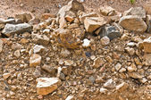 Stone and soil — Stock Photo