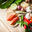 Vegetable of food for tom yum element — Stock Photo #37605303