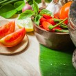 Vegetable of food for tom yum element — Stock Photo #37607509