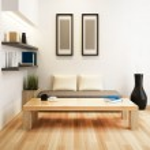 Living room of interior design — Stock Photo