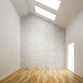Empty room of interior building design — Stock Photo