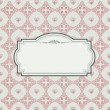 Vintage background with lace ornaments . — Stock Photo