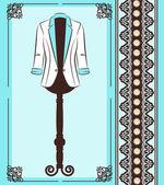 Modische Jacke mit Ornamenten — Stockfoto