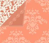 Elementos de costura vintage no fundo. vector — Foto Stock