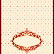 Vintage background with lace ornaments. Vector — Stock Photo #24228053