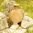 Ancient greek jug — Stock Photo