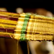 Stock Photo: Old style weaving