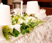 ślubna dekoracja — Zdjęcie stockowe