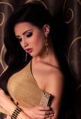 Gorgeous woman jewelry — Stock Photo