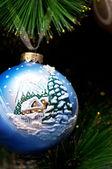 Boże Narodzenie Kula — Zdjęcie stockowe