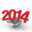 Stock Photo: New Year 2014