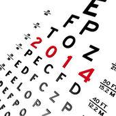 Eye Chart — Zdjęcie stockowe